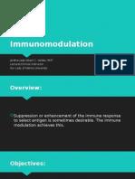 Immuno Modulation