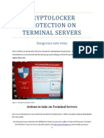 Cryptolocker for Terminal Servers