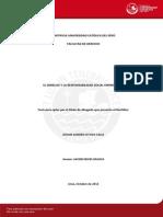Tesis Responsabilidad Social Corporativa y legislación laboral peruana