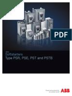 ABB Softstarter Catalog_PSR, PSE, PST and PSTB