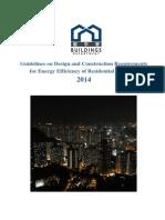Guidelines of Energy Efficiency of Residential Buildings _ Hong Kong