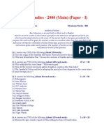 General Studies 2000_2001