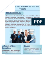 Conditions and Phrases of Will and Probate.docx