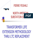 Transformer Life Extention Methodlogy Thru LTC Replacement