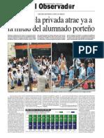 La escuela privada atrae ya a la mitad del alumnado porteño