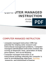 Computer Management Instruction