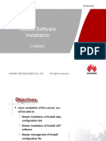 NodeB Software Installation(V100R007)