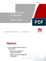 DBS3800 Data Configuration(DBS3800V100R007)