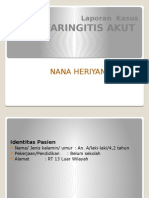 Ppt Tonsilo Faringitis Akut