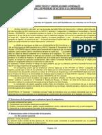 Directrices y Orientaciones Pau Geografia 2014-2015