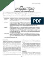 Hepatocellular Tools Diafnostic