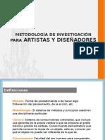 Metodología de Investigacion Para Artistas y Diseñadores