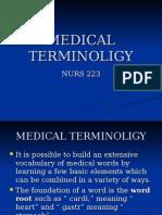 Medical Terminoligy