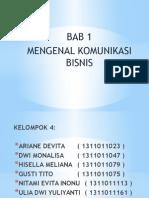 Kombis Bab 1
