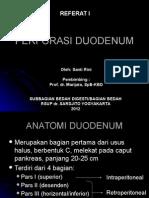 Perforasi Duodenum - Referat