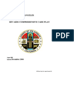 LA HIV/AIDS Comprehensive Care Plan