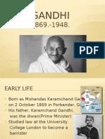 Gandhi english ppt