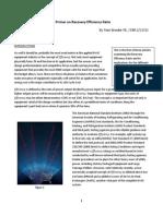 RER Primer White Paper