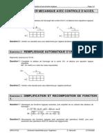 TD 31 - Simplification Et Recomposition d'Une Fonction Logique