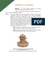 UW-11 Prueba Radiográfica y Ultrasónica
