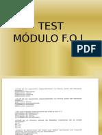 Test Modulo Fol 1