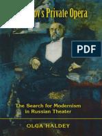 Haldey O. Mamontov's Private Opera