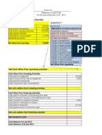 Cash Flow Template 2012 Update
