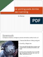 Penyakit Viral Penting Pada Domba Dan Kambing Revisi