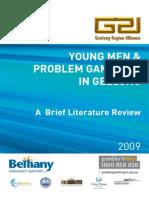 G21 Young Men & Problem Gambling a Brief Literature Review 2009