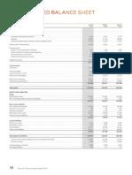 Ericson Balance Sheet