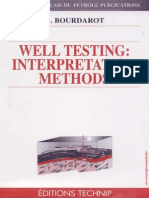 Bourdarot, G. - Well Testing Interpretation Methods