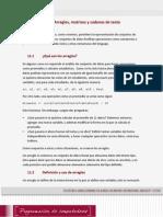 Lectura 1 - Arreglos Matrices y Cadenas de Texto