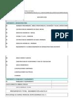 Cronograma Valorizado (Fisico -Financiero)