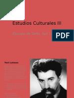 Estudios Culturales III