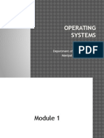 Operating Systems- Module 1