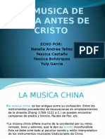 La Musica de China Antes de Cristo