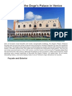 venedik dükler sarayı - venice dodge palace