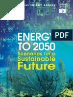 Energy to 2050