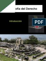 FILOSOFÍA DEL DERECHO - Introducción