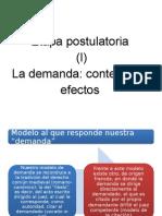 DERECHO CIVIL III (ACTO JURÍDICO) - Demanda