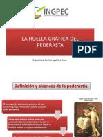 Huella Gráfica Pederasta 2014
