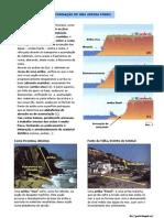 A formação de uma arriba fóssil (10.º)