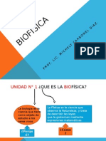 Biofísica 1