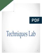 1. Lab Techniques