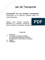 Contrato de Transporte.
