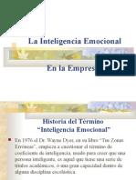 La Inteligencia Emociona en La Empresal
