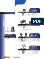 Cylinder Accessories for Power Team C Series Cylinders