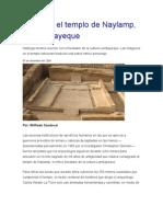Conozca El Templo de Naylamp
