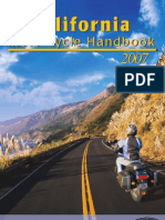 CA DMV Motorcycle Handbook