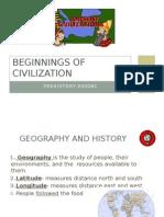 beginings of civilization  1